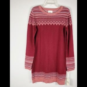 Between Me and You Sweater Dress, Sz L